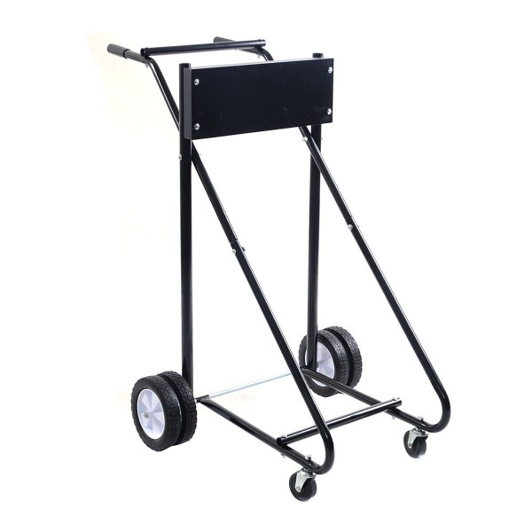 315 LBS Outboard Boat Motor Stand Carrier Cart Dolly Storage Pro Heavy Duty