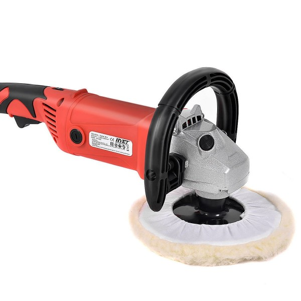 7 6 Variable Speed Car Electric Polisher Buffer Waxer Sander Detail Boat w//Case