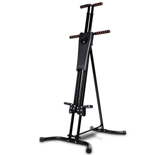 Indoor Vertical Step Fitness Machines ANCHEER Folding Climber Machine Compact Cardio Exercise Climbing Stair Stepper for Home Office Gym