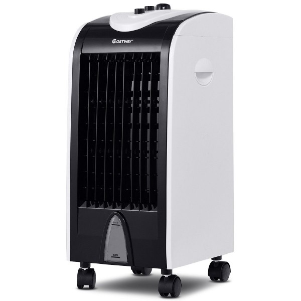 3-in-1 Portable Evaporative Air Cooler with Filter Knob for Indoor