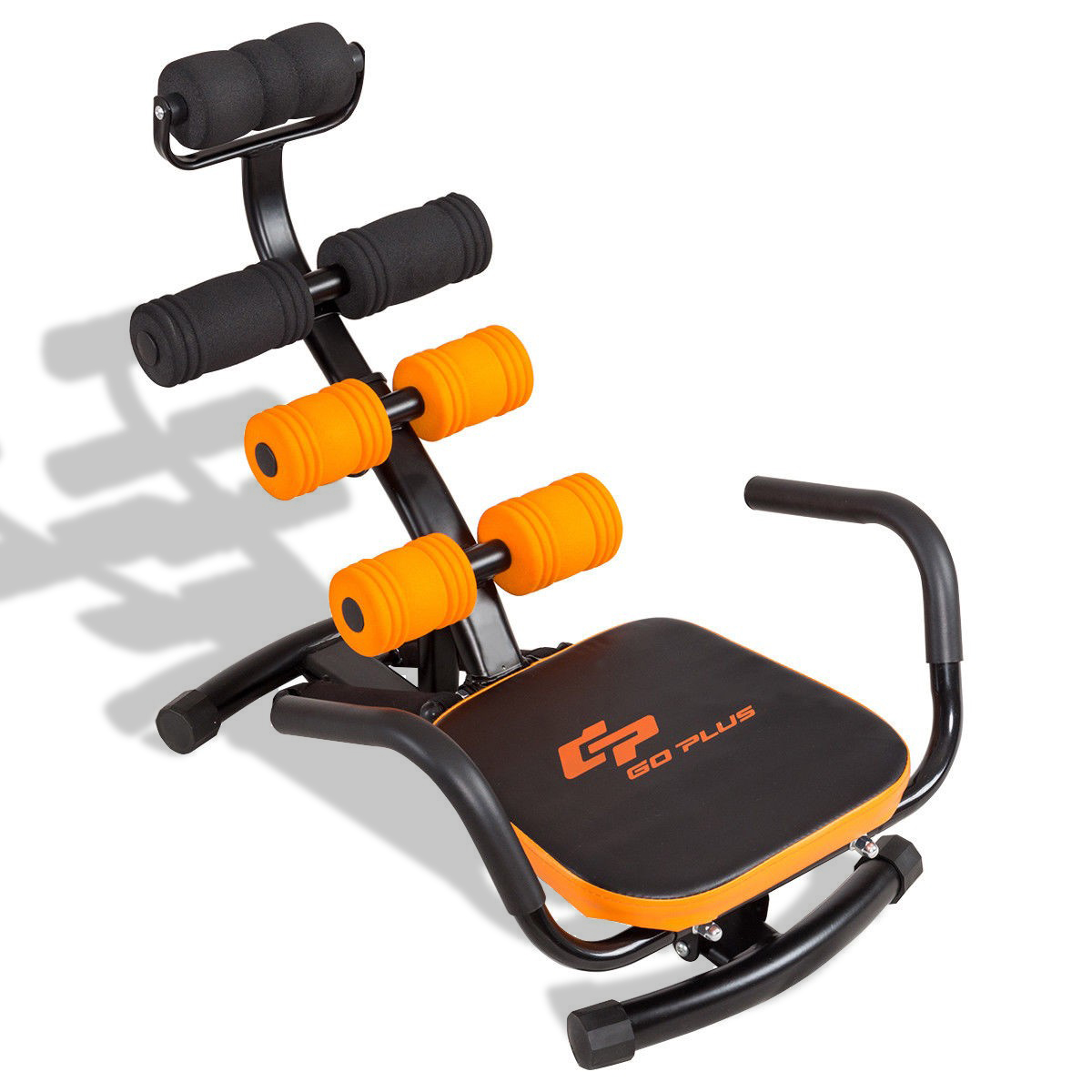 Details about  /Ab Abdominal Cruncher Trainer Exercise Machine Fitness Body Waist Shaper Gym